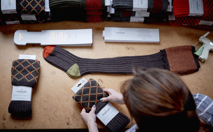 Quality materials used to make all of our socks and shooting clothing