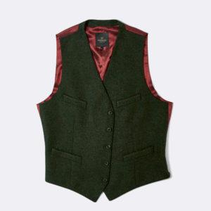 mens bentley loden waistcoat