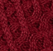 shooting sock colour combo in deep red