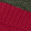shooting sock colour combo ruby red and olive green