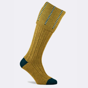 devonshire shooting sock in sage