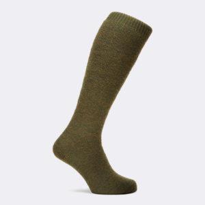 mens poacher shooting sock in green