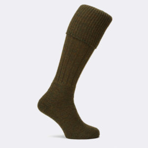 mens gamekeeper shooting sock in greenacre