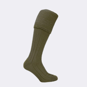 mens lamora shooting sock in berkle green