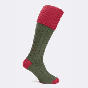 mens pembroke shooting socks in tudor