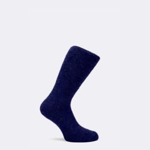 mens short range socks in navy blue