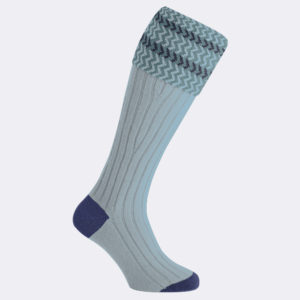 womens shooting socks in silver