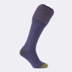 mens ambassador shooting socks in wild heather